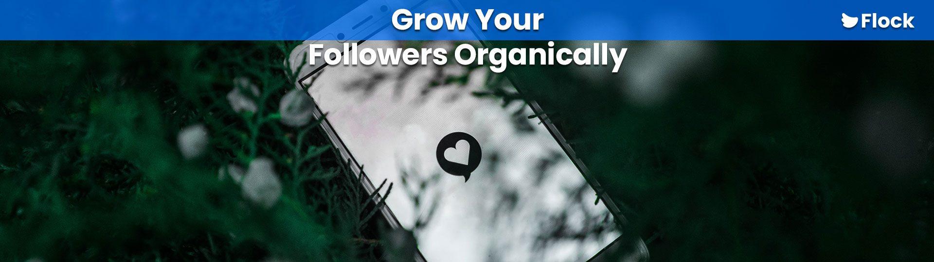 Grow Your Followers Organically